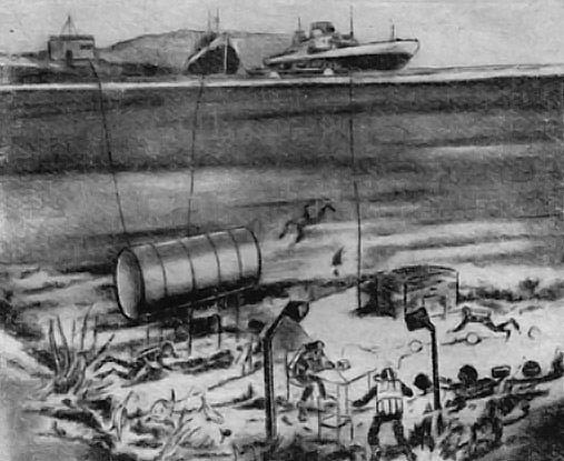 Первое подводное поселение