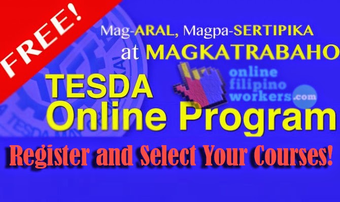 TESDA Program Opens FREE Studies via Online Courses