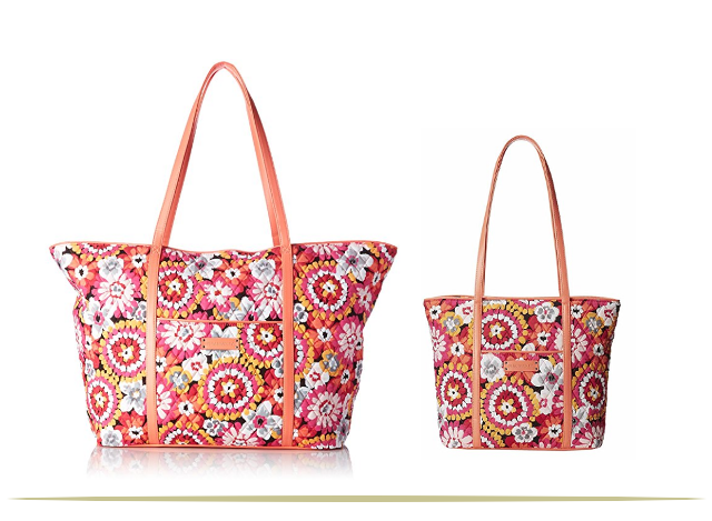Vera Bradley Mother-Daughter Trimmed Tote Bags     9 Cool Things