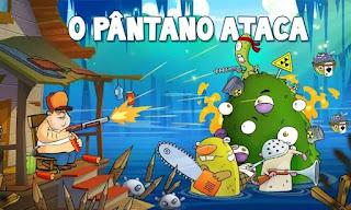 Swamp Attack Apk Mod Dinheiro Infinito