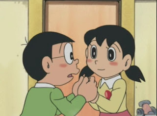 Gambar Animasi Nobi Nobita dan shizuka02