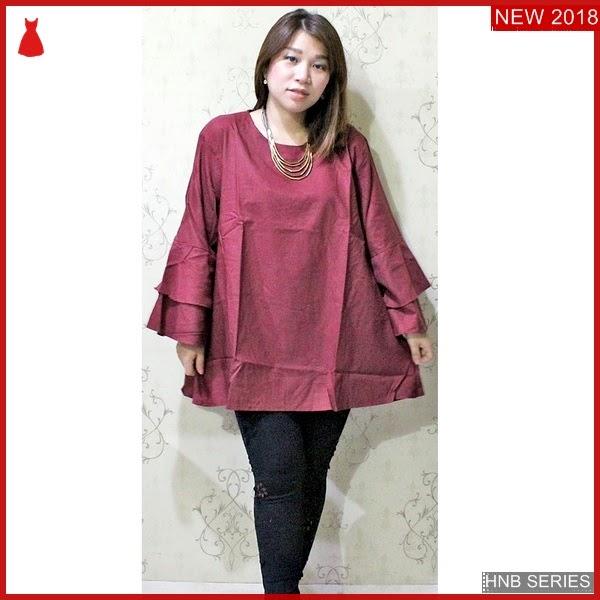 HNB019 Dress Layer Tali Ukuran Besar Jumbo Modis BMG Shop