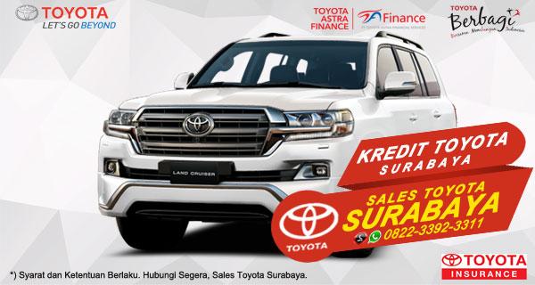 Promo DP Ringan, Paket Kredit Toyota Land Cruiser Surabaya