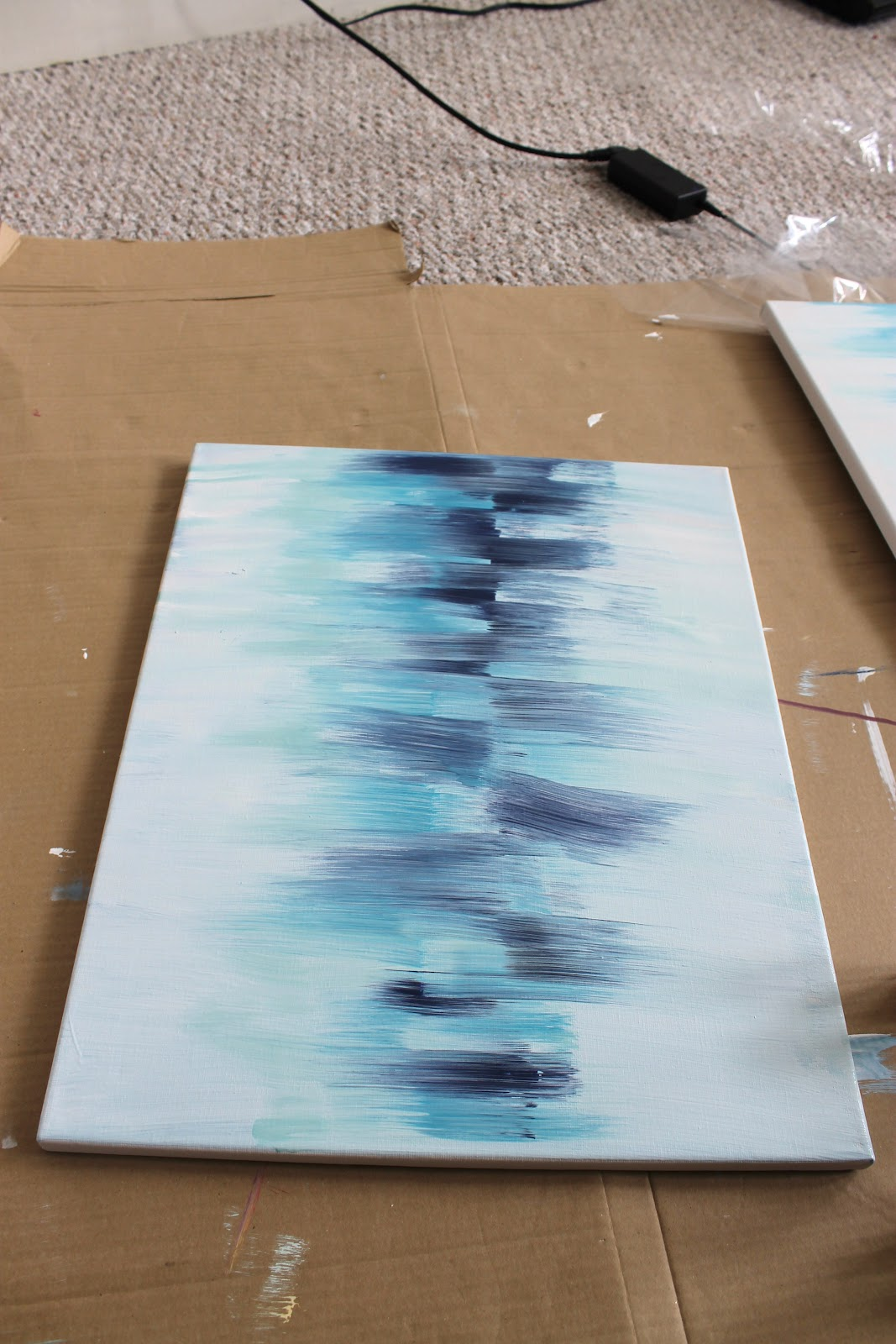 BEAUTY & THE BEARD: DIY Abstract Art How-to