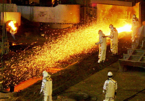 Tinuku POSCO adopts artificial intelligence for smart steel factory