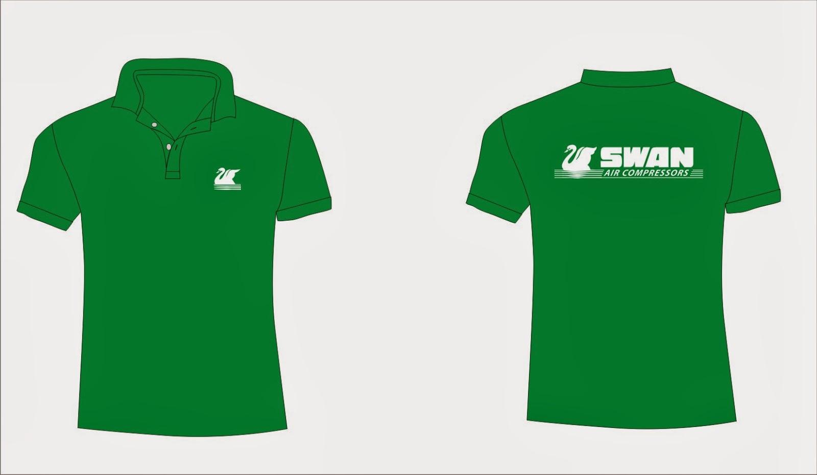 Hình ảnh Mẫu áo đồng phục công ty đẹp màu xanh lá cây