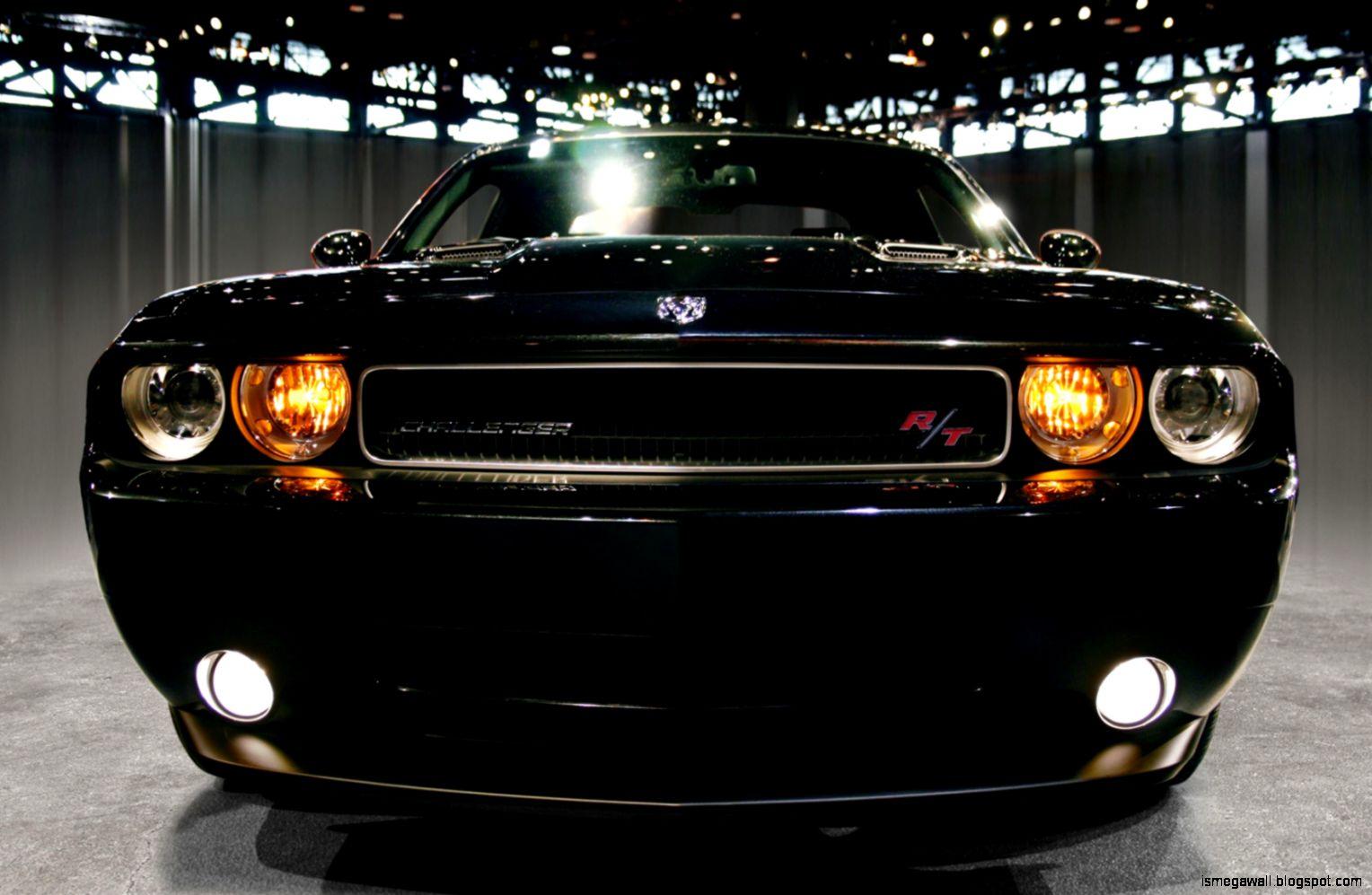 Dodge Challenger R T Black Wallpaper