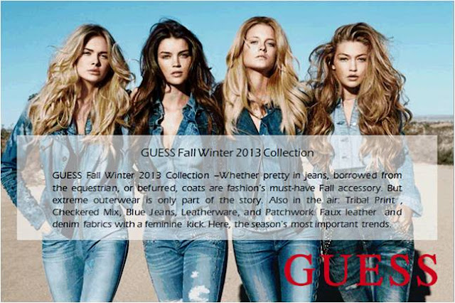 Guess Fall Winter 2013 Collection