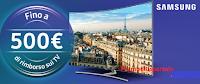 Logo Samsung Tecnoincentivi e MonClick: ricevi un rimborso sicuro fino a 500 euro