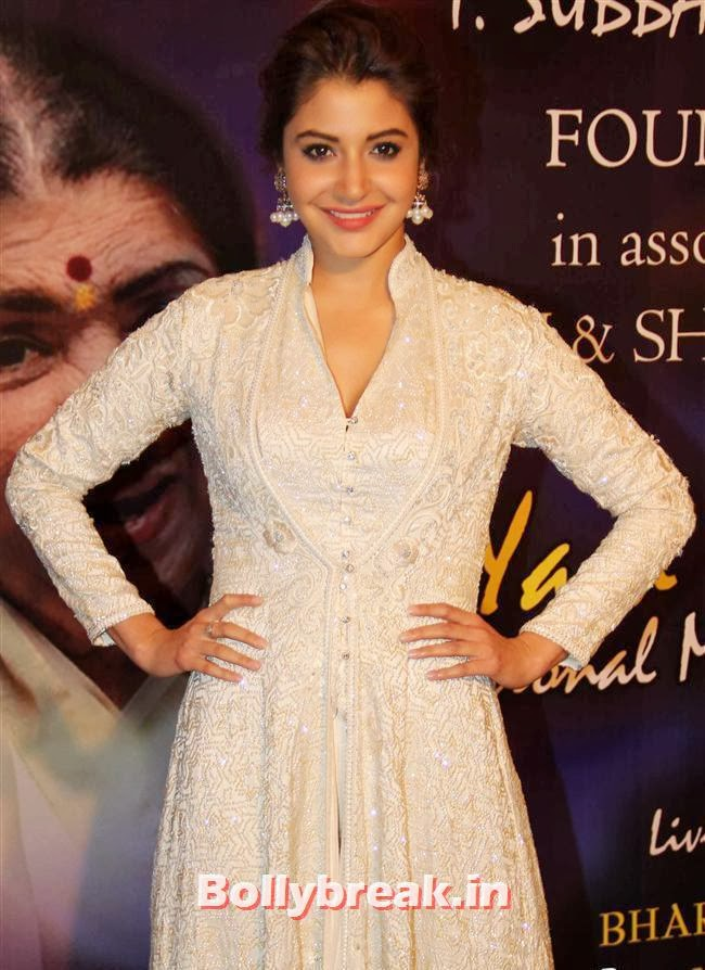Anushka Sharma in white gown, Bollywood Beauties at Yash Chopra Memorial Awards