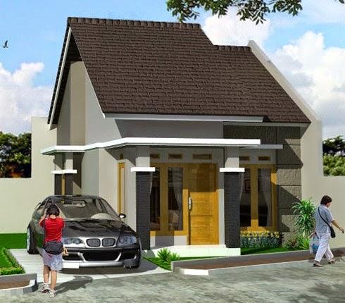 Contoh Desain Rumah Mungil Minimalis Modern 2015