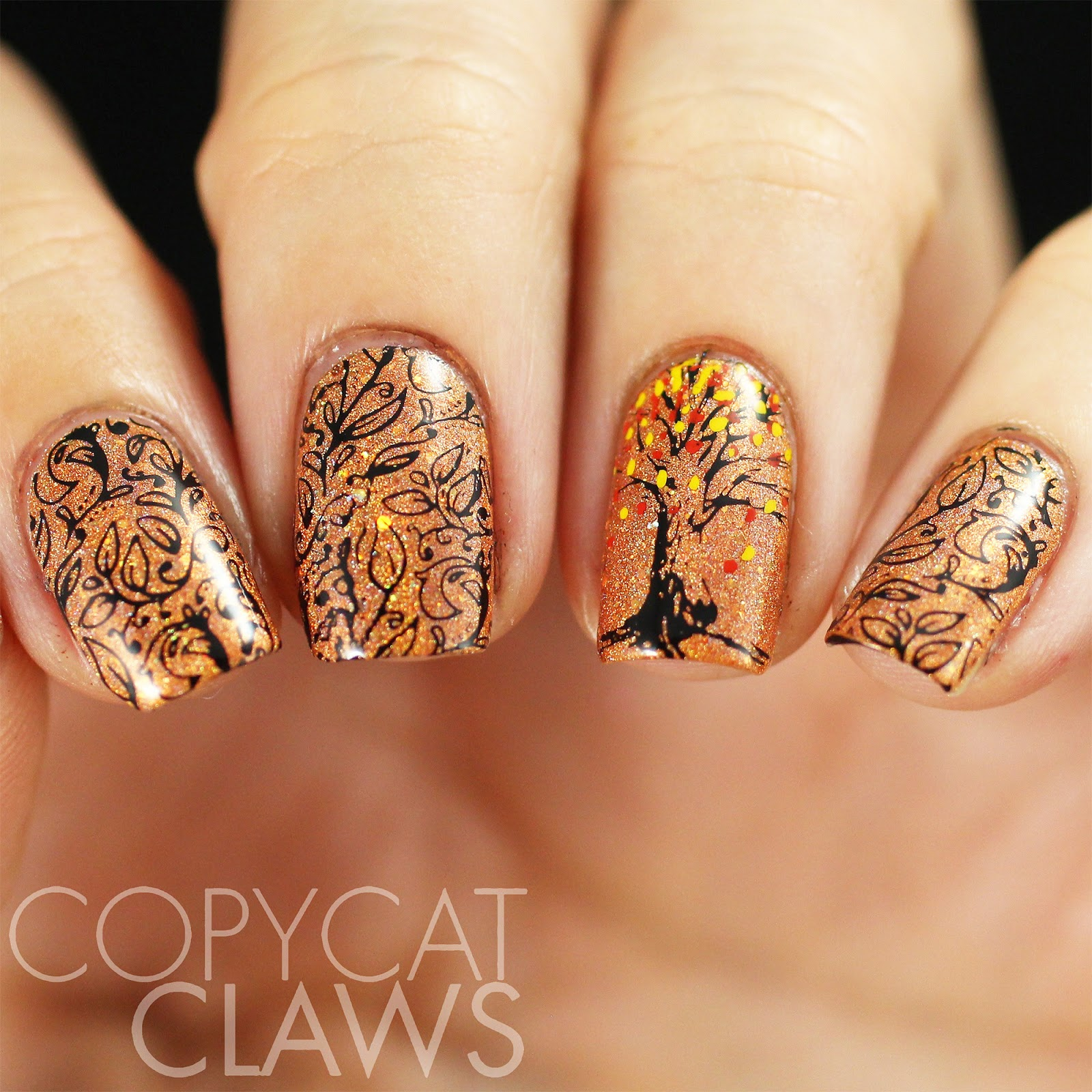 Copycat Claws: 40 Great Nail Art Ideas - Autumn