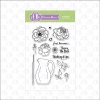 FBS Posies 4x6 Clear Stamp Set