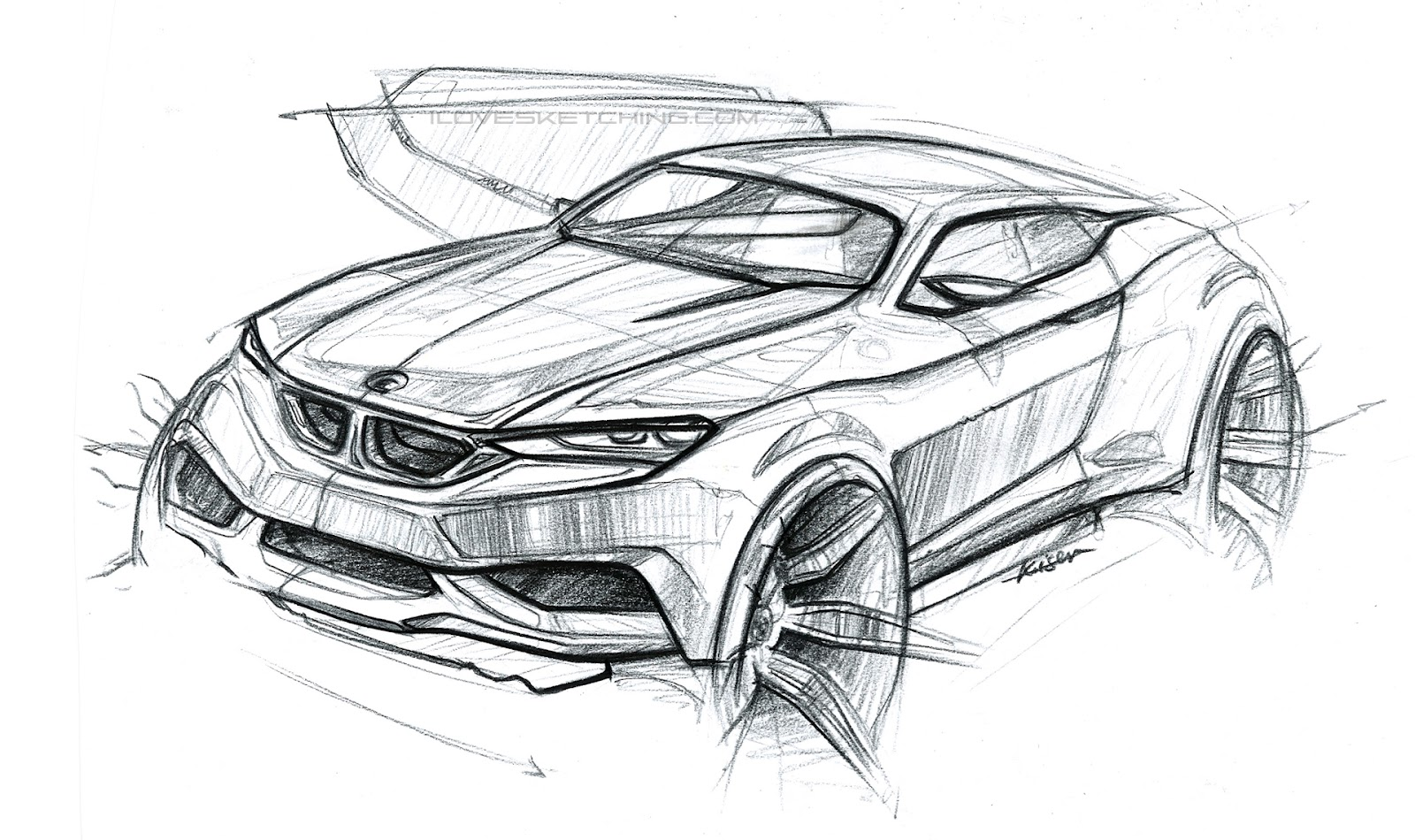 I Love Sketching Bmw Coupe