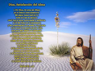 Resultado de imagen para Salmo 63 (62)
