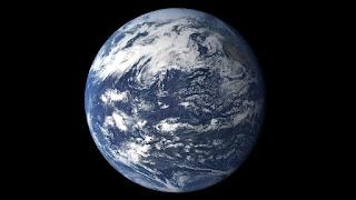 El Océano Pacífico visto desde el espacio