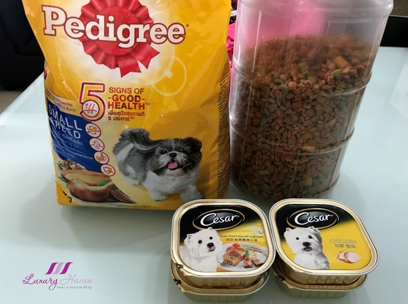 pedigree dog food cesar roast turkey
