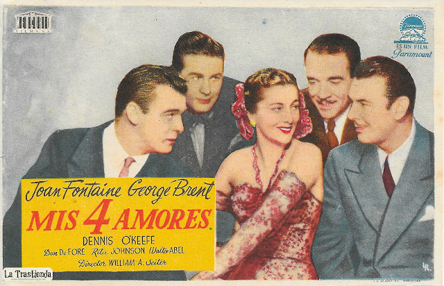 Mis 4 Amores - Programa de Cine - Joan Fontaine - George Brent