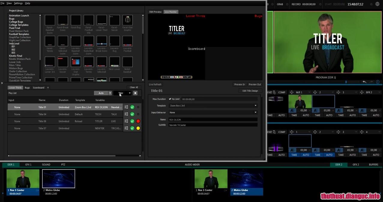 Download NewBlueFX Titler Live 4 Broadcast 4.0.190221 Full Crack, đồ họa trực tiếp, đồ họa hoạt hình 3D, NewBlueFX Titler Live 4 Broadcast , NewBlueFX Titler Live 4 Broadcast free download, NewBlueFX Titler Live 4 Broadcast full key,