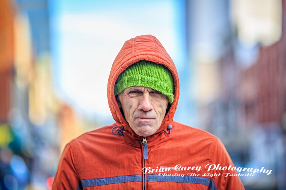 Street portrait by Brian Carey St John's Newfoundland