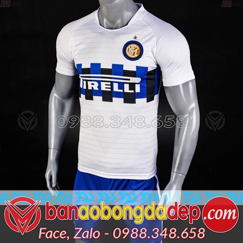 Áo Inter Milan Trắng 2019 Training 2