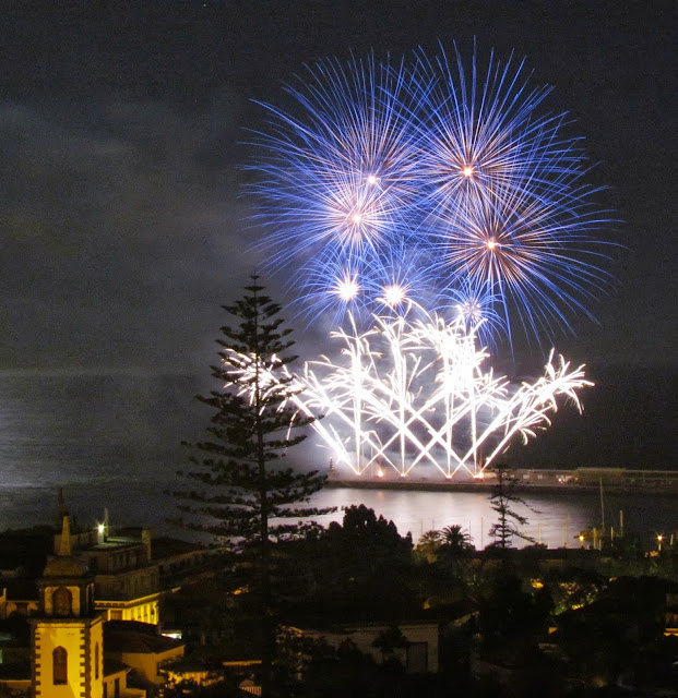 Madeira Atlantic Festival 2013, June, day 22 - Portugal fireworks