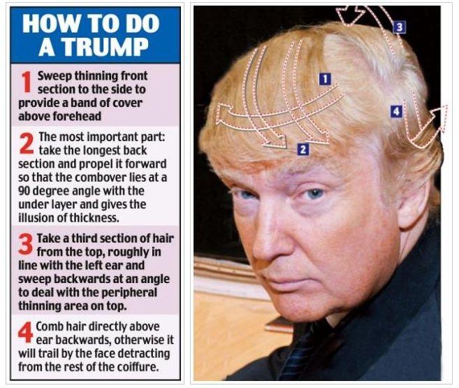 BILLIONAIRE GAMBLER™: Donald Trump hair