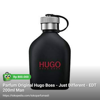 hugo boss just different edt 200ml man