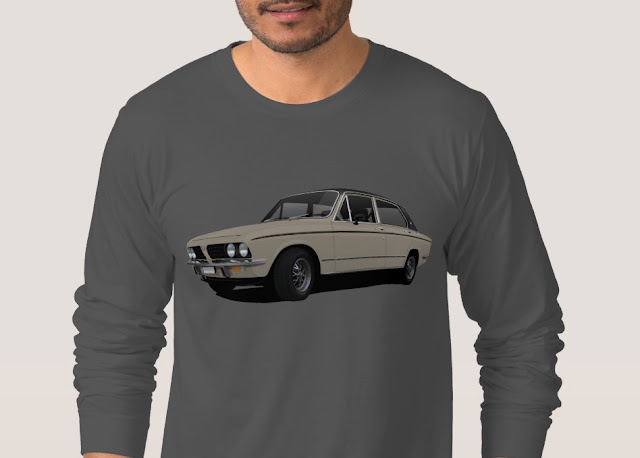 Triumph Dolomite Sprint illustration t-shirt