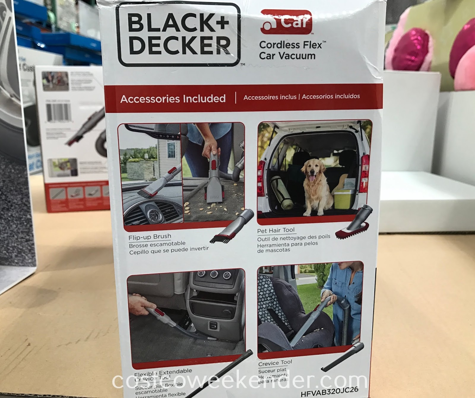Black & Decker Cordless Flex Car Vacuum: great for any car owner