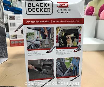 Black & Decker Cordless Flex Car Vacuum: great for any car owner