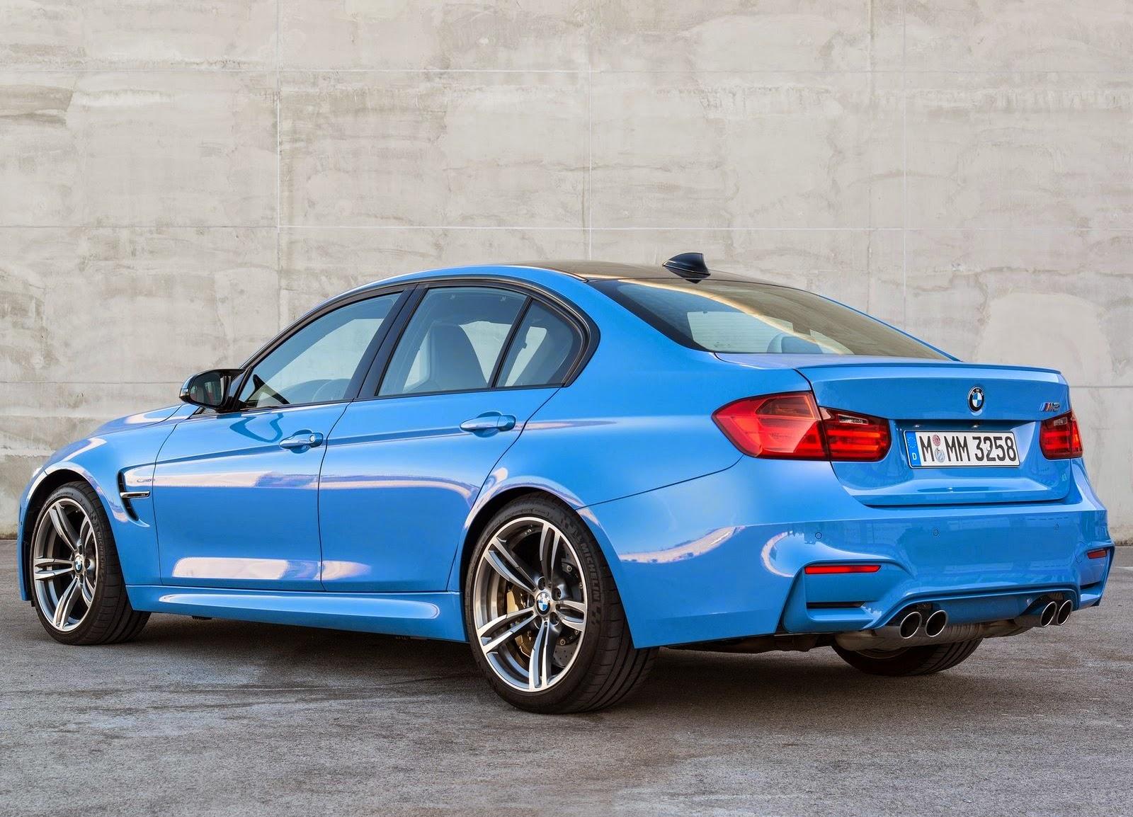 Bmw M3 Hd Wallpaper: BMW M3 Sedan Blue 2015 Car Wallpaper ! Car Wallpaper HD