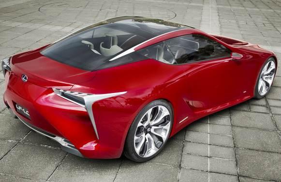 2016 Lexus LF LC Concept Specs