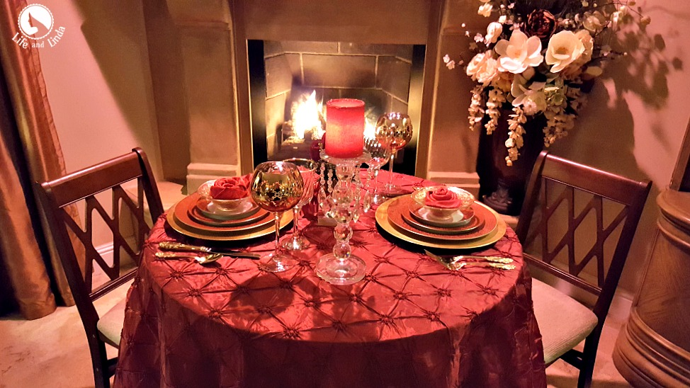 Table For 2 : Romantic table for two life and linda