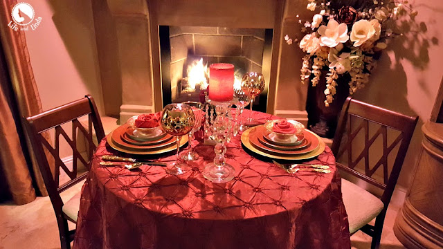 Romantic Table For Two Life And Linda