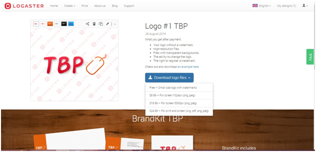 Download the logo files as per your requirement
