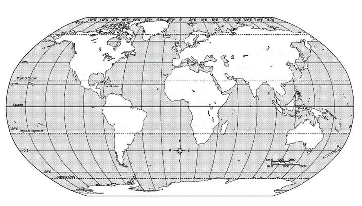 Planisferio Para Colorir Imagui