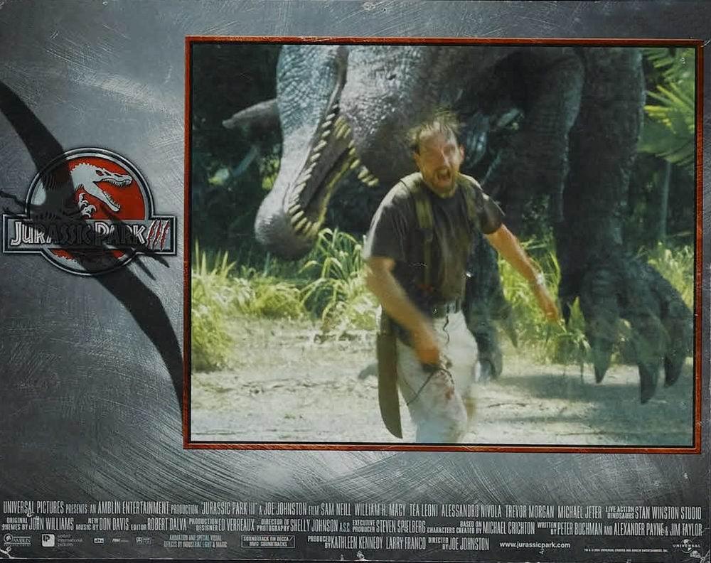 100 Years of Cinema Lobby Cards: Jurassic Park III (2001)