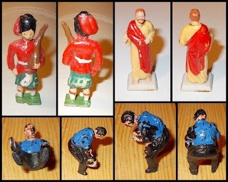 Contribution, Donations, How They Come In, Job Lot, Mixed Lot, Mixed Playthings, Mixed Toys, Show Plunder, Show Reports, Small Scale World, smallscaleworld.blogspot.com, 5 How They Come In Highlander Jesus Taylor And Barratt Blacksmith