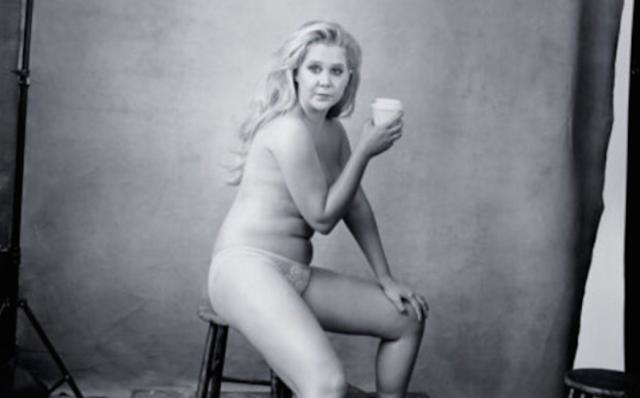 Amy Schumer (Sen. Chuck Schumer's Cousin) Poses Nude For Pirelli Calendar