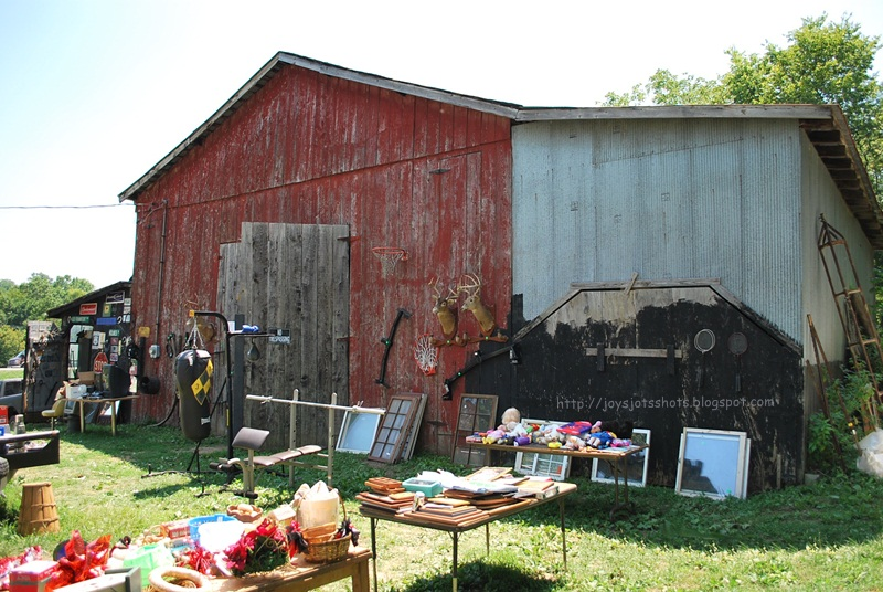 Joy's Jots, Shots & Whatnots: Barn Charm ~ Ky Yard Sale