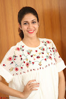 Lavanya Tripathi in Summer Style Spicy Short White Dress at her Interview  Exclusive 199.JPG