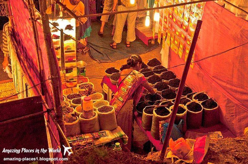 Every Saturday in Arpora Goa, interesting markets