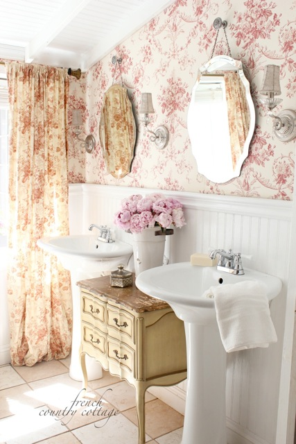 Inspiration french style fabrics french country cottage - What is french country style ...