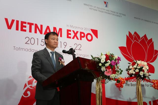 www.goldenmark.org - Thứ trưởng Bộ Công Thương Đỗ Thắng Hải phát biểu tại Lễ khai mạc Hội chợ
