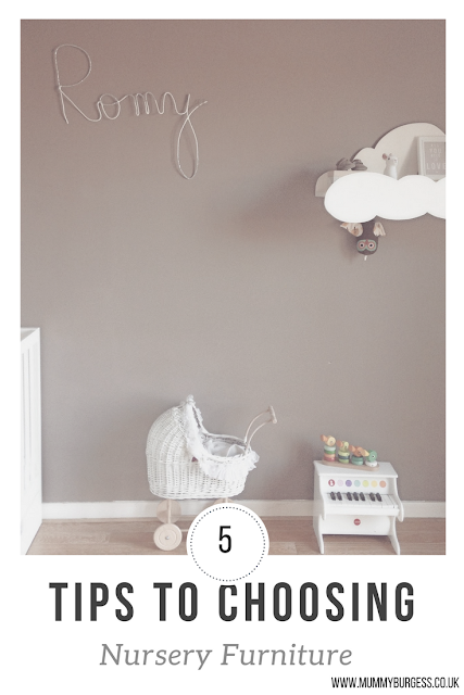 tips for choosing nursery furniture