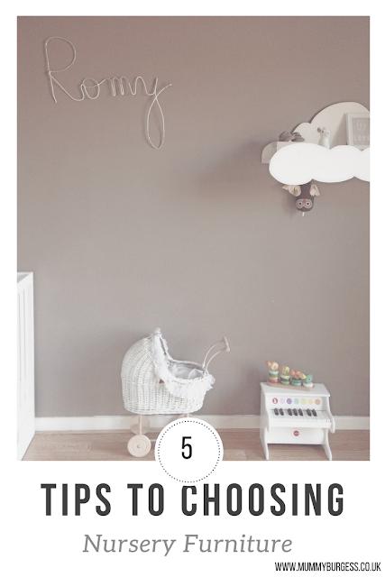 tips for choosing nursery furniture