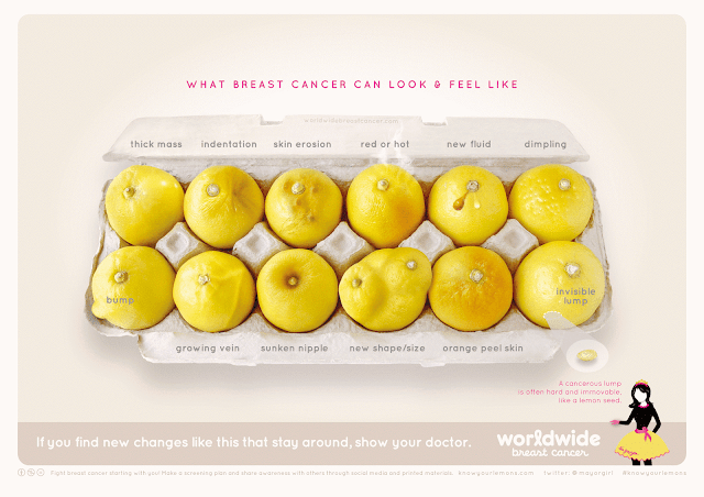 Know your lemons breast cancer awareness