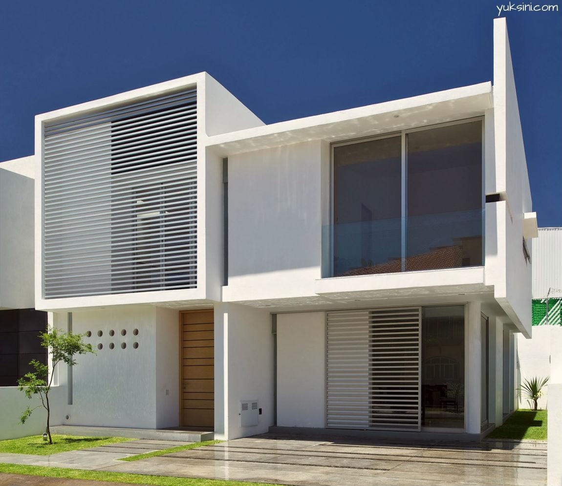 contoh eksterior rumah minimalis