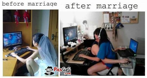 See Here: Single Life Vs. Married Life